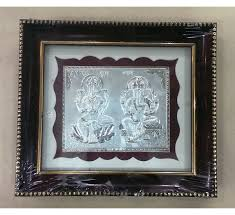 Laxmi-Ganesh-Silver-Frame