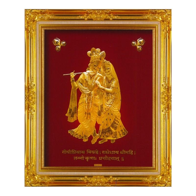 radhakrishna-frame-in-24-karat-pure-gold-sheet-artwork