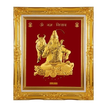 shiva-in-24-karat-pure-gold-sheet-artwork